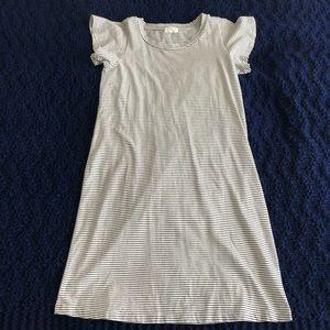 Anthropologie t.la Striped T-shirt Dress